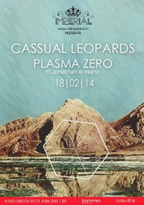 Flyer Cassual Leopards-Plasma Zero IMPERIAL 18-FEB-2014 22 hrs