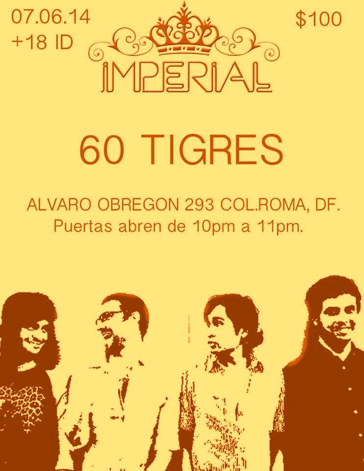 Imperial 7 de junio 60 tigres